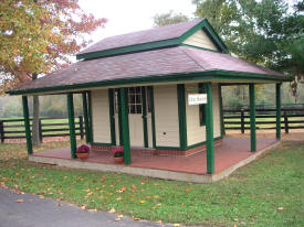 Train Station at Oak Haven Farm